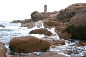 Wybrzeże Różowego Granitu    fot. Marta Tobiasz-Jouhier
