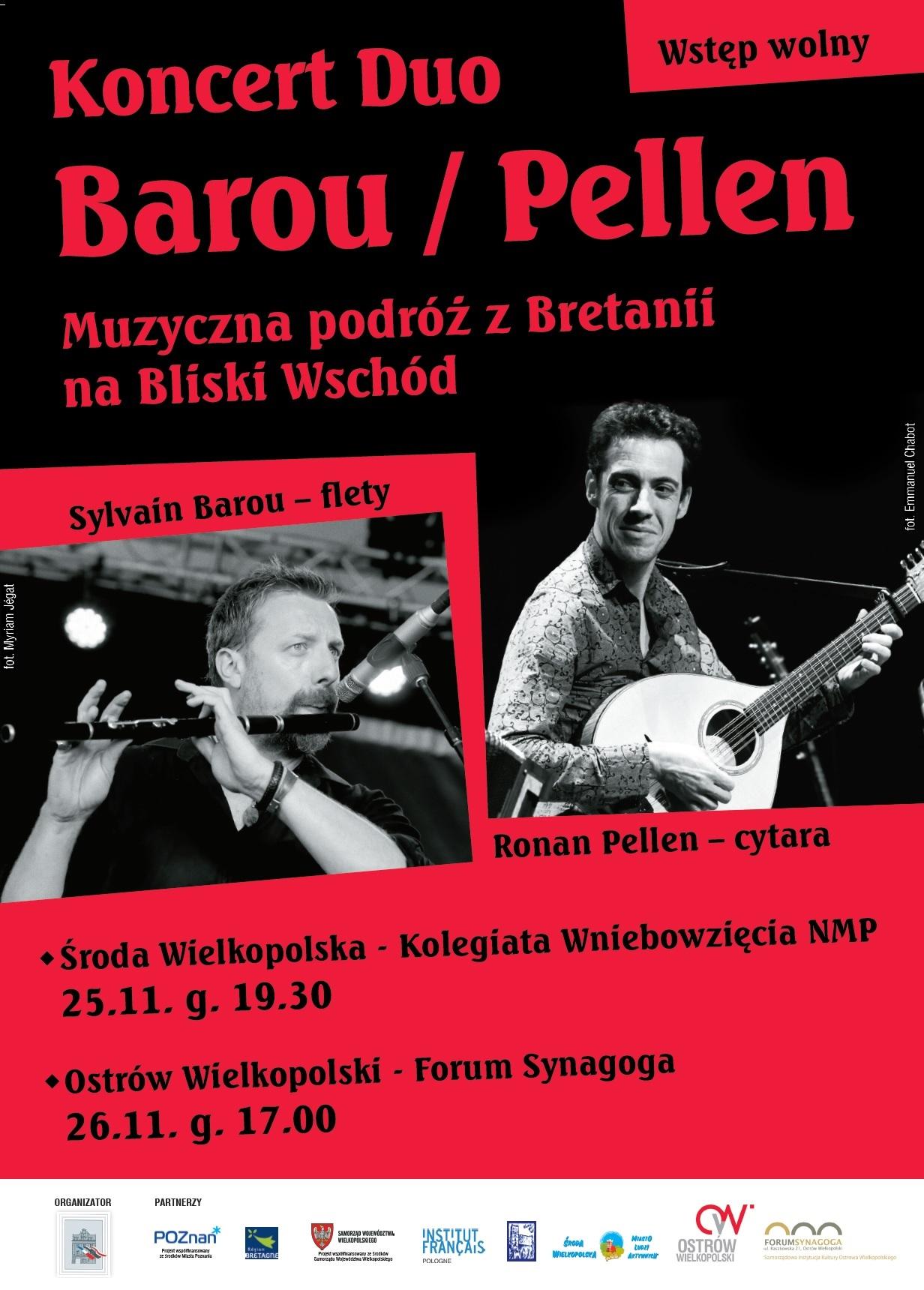 Plakat Duo Barou-Pellen bis