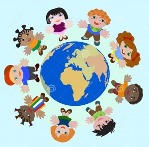 enfants-de-concept-de-rêve-différent-de-nations-de-paix-sur-terre-69893913