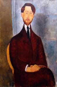 L. Zaborowski obraz Modiglianiego