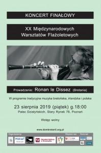 Plakat XX MWF Ronan le Dissez