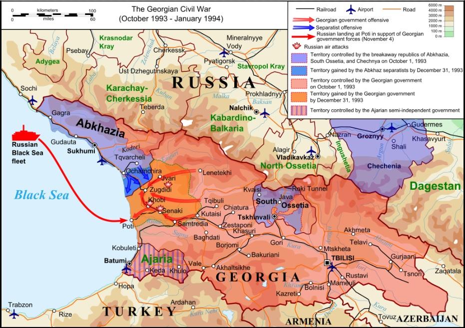 Gruzja a Rosja