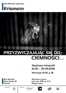 Krismenn - plakat wystawy