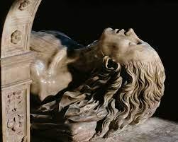Nagrobek Anny Bretońskiej w Bazylice Saint Denis. Autorstwo rzeźby przypisywane jest braciom Juste z Florencji. 1515-1531. © Pascal Lemaître ǀ Centre des monuments nationaux